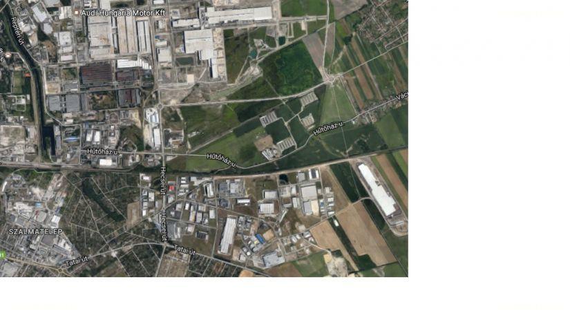 Ipari park, Győr, ingatlan, eladó, telek, 47.580 m2, 160.000.000 Ft