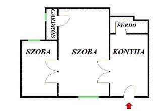 Józsefváros, VIII. kerület, ingatlan, eladó, lakás, 41 m2