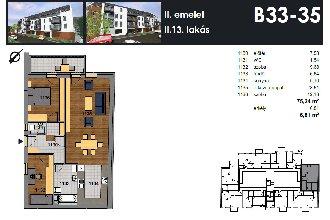 Új építésű, Óváros, XIX. kerület, ingatlan, eladó, lakás, 75 m2